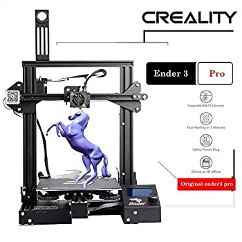 Image of 3D Printers Creality Ender 3 Pro 3D Printer 8.6' x 8.6' x 9.8' with Meanwell Power Supply and Removable Cmagnet Build Surface Plates