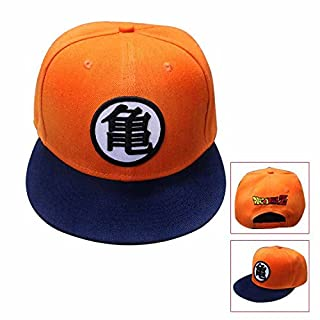 inDomit Adjustable Canvas Baseball Cap for Anime Dragonball Z Goku Fans or Cosplayer