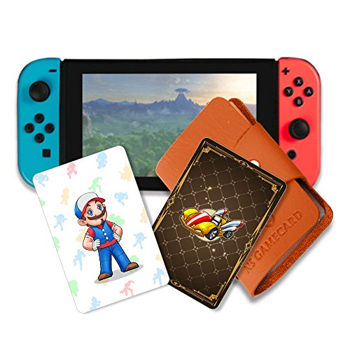 NFC Game Cards for Mario Kart 8 Deluxe Switch - 20pcs With Cards Holder by Pedestrians