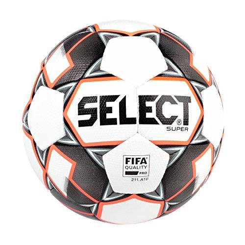 (SELECT Super Fifa Soccer Ball, White/Black, Size 5)