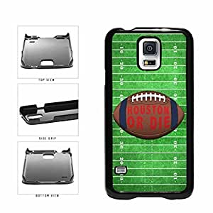 Zheng caseHouston or Die Football Field Plastic Phone Case Back Cover Samsung Galaxy S5 I9600