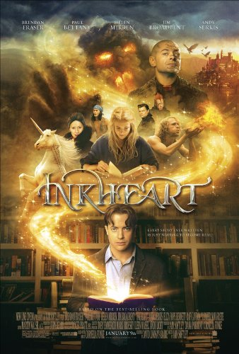 Inkheart Movie Poster (11 x 17 Inches - 28cm x 44cm) (2009) Style A -(Brendan Fraser)(Andy Serkis)(Paul Bettany)(Helen Mirren)(Jim Broadbent)(Eliza Bennett)