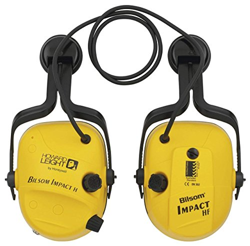 Howard Leight by Honeywell Impact Series Sound Amplification Hard Hat Electronic Earmuff (1010632) ()