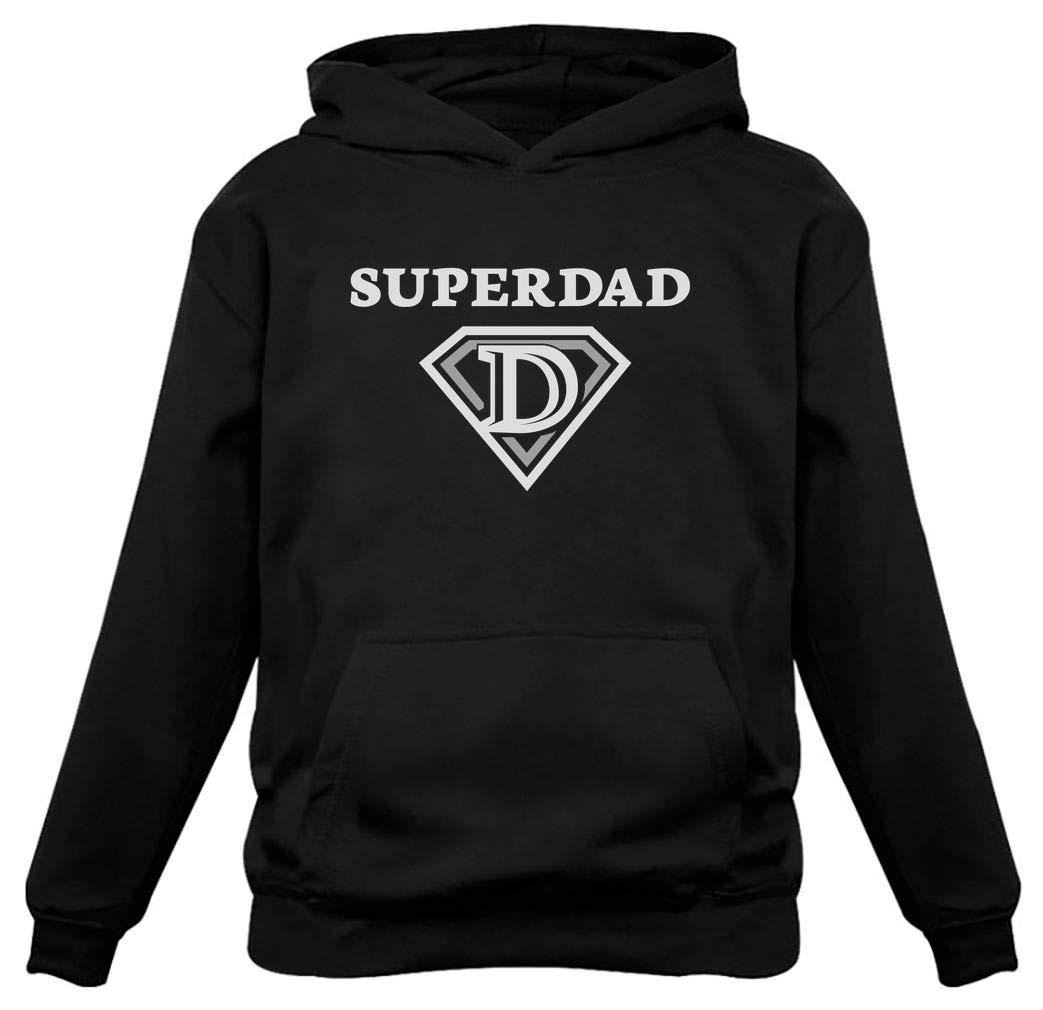 17532ec4 TeeStars - Super Dad Birthday Gift Father's Day Super Hero Husband Hoodie  product image