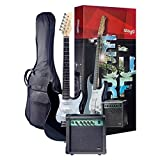 Stagg Surfstar Electric Guitar With Amplifier Pack - Black