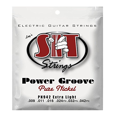 S.I.T. String PN942 Extra Light Pure Nickel Wound Electric Guitar String
