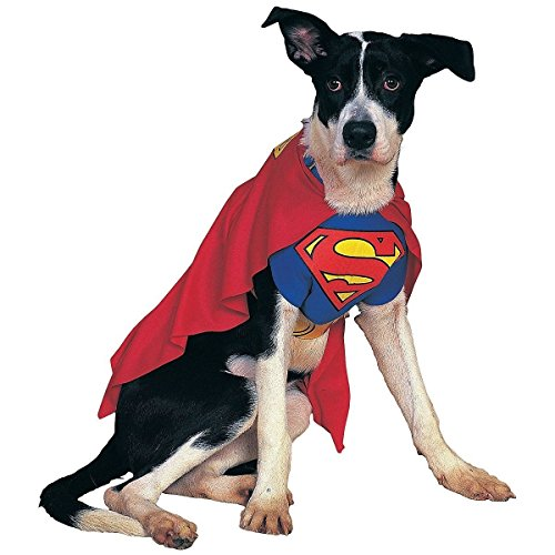 DC Comics Superman Cape Dog Costume XL