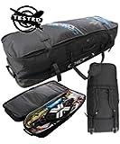 Concept X kitebag Travel-Beach Pro BoardBag Travel Beach Pro, Schwarz, 140 cm