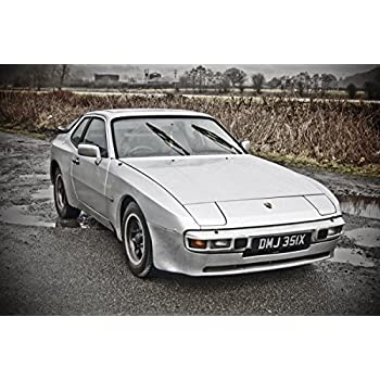 Gifts Delight Laminated 36x24 Poster: Porsche 944