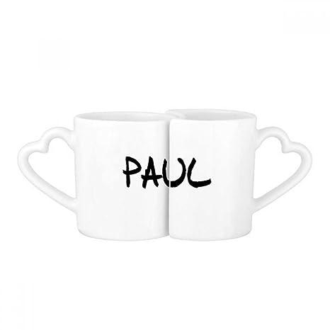 Amazon Com Special Handwriting English Name Paul Lovers Mug Lover