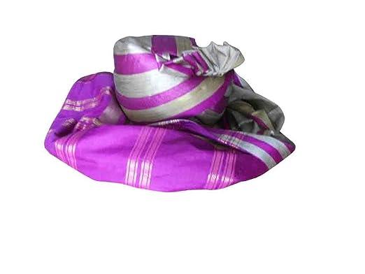 51ff273620d Indian Handmade Men Hat Banarasi Silk Pagri Sherwani Groom Turban Pag Safa   Amazon.co.uk  Clothing