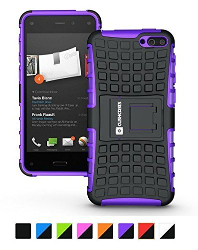 Cush Cases Extinguisher Series Heavy Duty Cover Case for Amazon Fire Smartphone (Purple)
