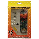 """4CFB Complete Wooden Fingerboard with Real Wear """"Killa Pumpkin"""" Golden Age Comic Book Graphic"""