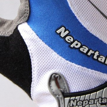 Haut Demi Summer qualité Finger Blue Mountain Bike Vélo Gants d'équitation