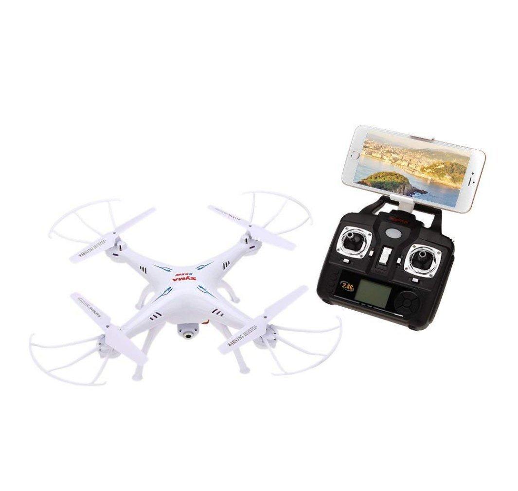 Web oficial Spatial Element Avión De Control Remoto Remoto Remoto X5SW Syma Avión De Cuatro Ejes Drone Aéreo Mapa En Tiempo Real Pase Alto Vuelo Estacionario Sin Modo De Cabeza 3D Caída Niños Avión De Juguete  venderse como panqueques