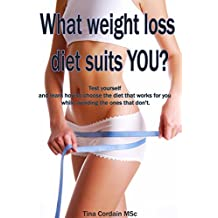 What weight loss diet suits YOU?: Test yourself and learn how to choose the diet that works for you while avoiding the ones that don't. (weight loss diet, weight loss)