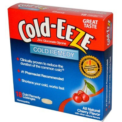 COLD-EEZE CLD DRPS BOX CHERRY 18 (Cold Eeze Cough Drops Box)