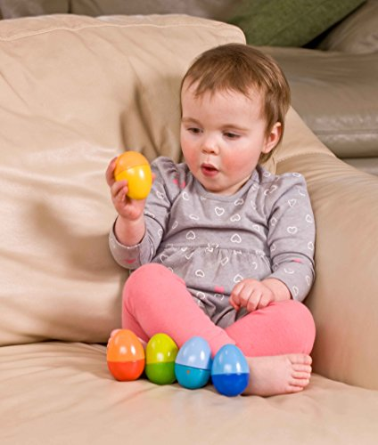 HABA Shakin Eggs - 5 Wooden Eggs with Acoustic Elements