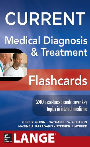 CURRENT Medical Diagnosis and Treatment Flashcards (LANGE CURRENT Series) Pdf