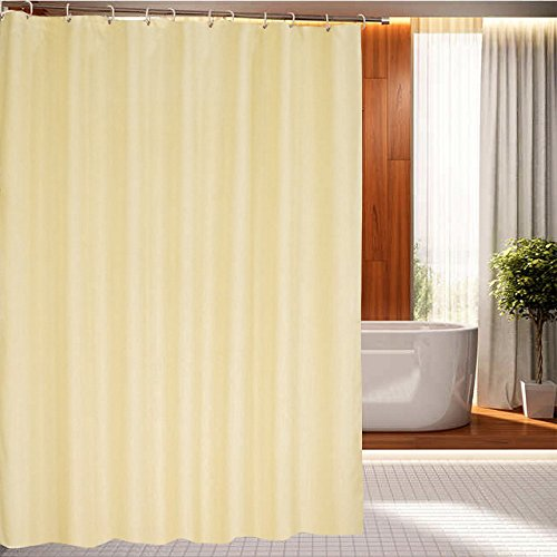 eforcurtain bath stall size 36 by 72 inch heavy duty fabric shower curtain indoor waterproof. Black Bedroom Furniture Sets. Home Design Ideas