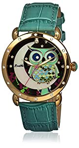 Bertha Women's BR3003 Ashley Turquoise/Multi Leather Watch