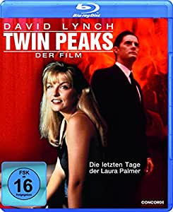 Twin Peaks Fire Walk With Me (German Import- Region Free Blu Ray)