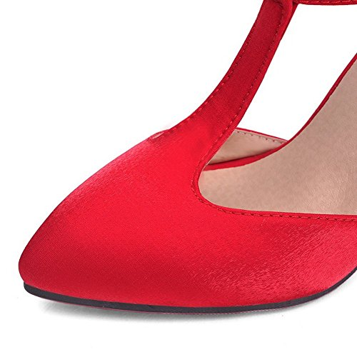 35 Zeppa Red Rosso Donna EYR00056 con Aimint Sandali Swqz0Wv
