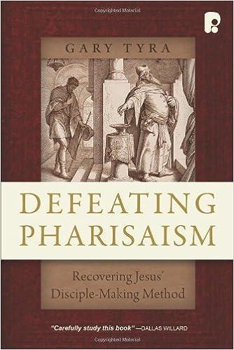 Last ned bøker gratis for å brenne Defeating Pharisaism: Recovering Jesus' Disciple-Making Method på norsk PDF ePub by Gary Tyra 1606570161