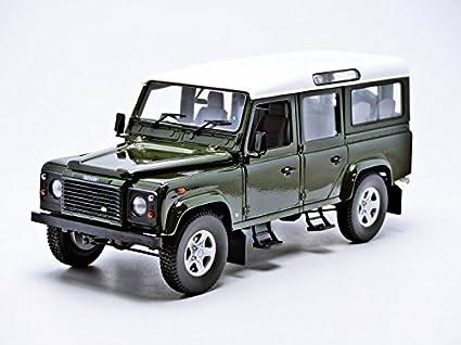 Amazon com: Land Rover Defender 110 Station Wagon Dark Green