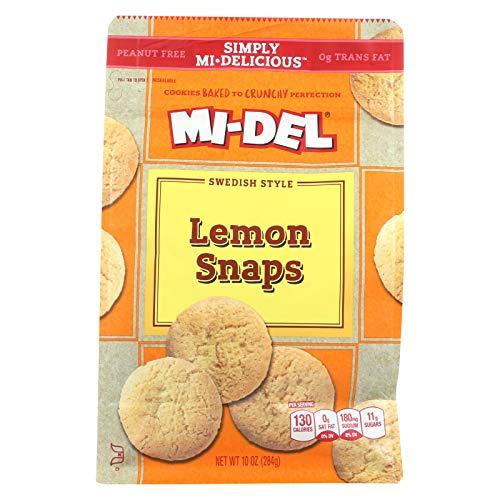 MIDEL LEMON SNAPS , Pack of 8 ()