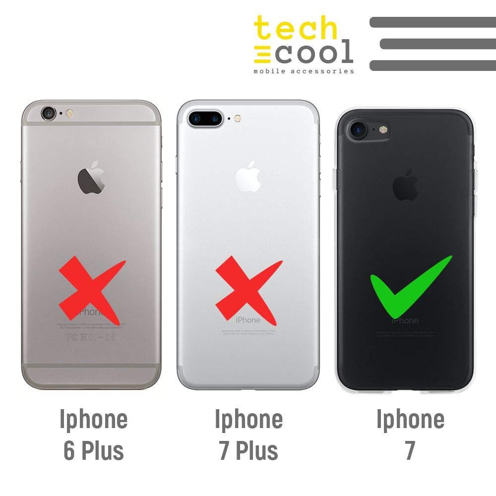 Gel Silicona Flexible, Dise/ño Exclusivo Frase Tenemos qu/ímica Transparente ver1 Funnytech/® Funda Silicona para iPhone 7 //iPhone 8