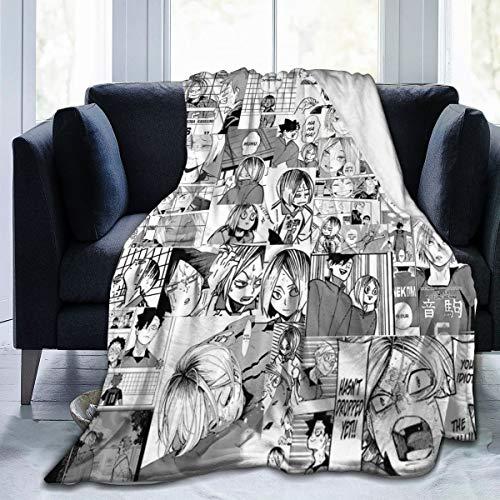 Greatertouch Fleece Blanket Throw Kenma Kozume