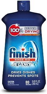Finish Jet Dry Dishwasher Rinse Aid, 8.45 Ounce