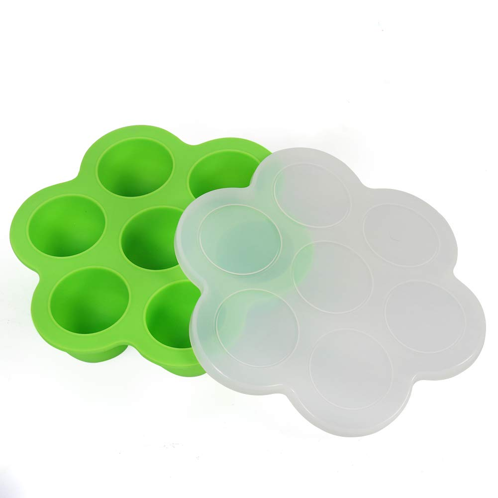 Billion Seed Silicone Egg Bites Molds for Baby Food Freezer Trays,Instant Pot Accessories with Popsicle Molds by Billon seed (Image #3)