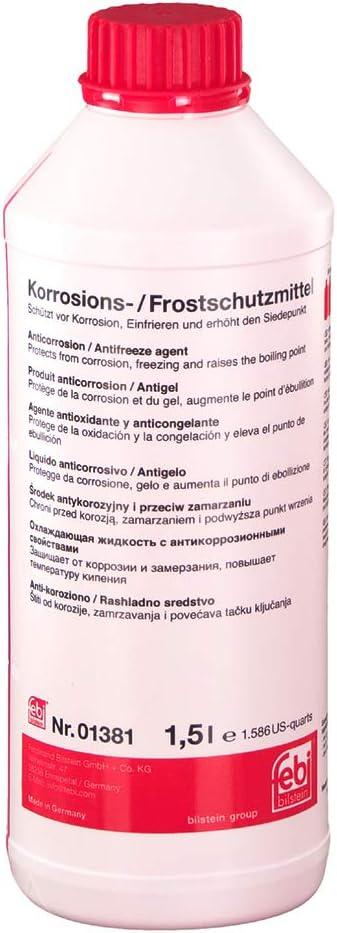 3x Febi Bilstein Kühler Frostschutz Rot 1 5l 01381 Glysantin Frostschutzmittel Antifreeze Auto