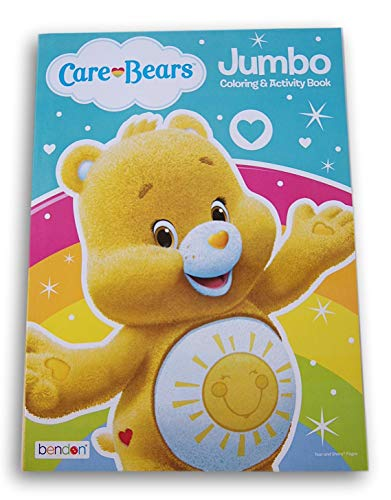Care Bears Coloring Book - 96 Pages (Funshine Bear)
