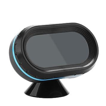 12V/24V Coche Termómetro Digital Voltímetro Reloj Alarma Monitor, Keenso Reloj de Mesa Multifuncional LED Termómetro Interior/exterior para Automóviles ...