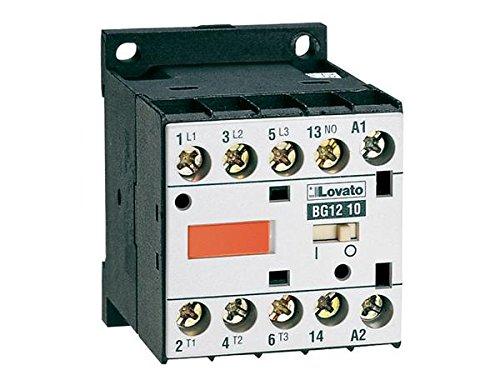Lovato Minicontactor tripolar ac3 9a bg0910a 230vac