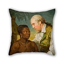 beautifulseason oil painting Carl Fredric von Breda - Double portrait cushion cases ,best for living room,bench,wife,boys,teens,home theater 20 x 20 inches / 50 by 50 cm(twice sides)