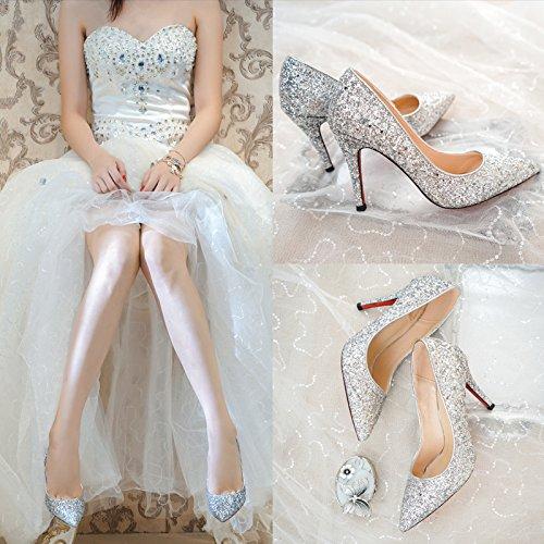 Chaussures Cendrillon Cristal Mariage Talons Sandales Marie De Mince Stiletto 6qZSqIOw