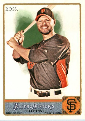 2011 Topps Allen and Ginter Baseball Card #312 Cody Ross SP - San Francisco Giants (Short Print) MLB Trading Card
