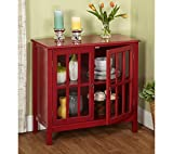 Target Marketing Systems Portland Cabinet Red