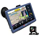 GPS Navigation for Car 7 inch Android Car GPS Navigation Built-in Bluetooth Navigation Systems HD Waterproof Rear view Camera with Maps Lifetime Update
