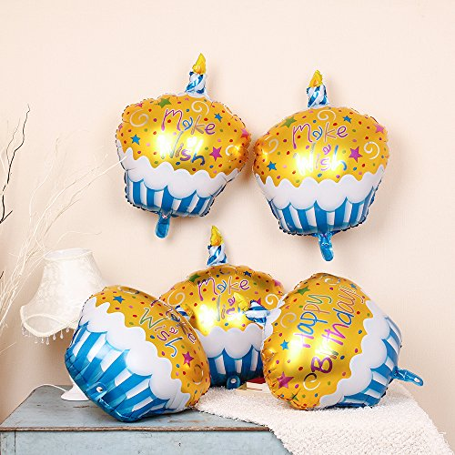 Happy Birthday Helium Balloon Colorful product image