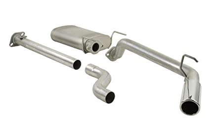 Pace Setter 86-2800 TFX Performance Kat-Back Exhaust Systems Stock Exit  Location