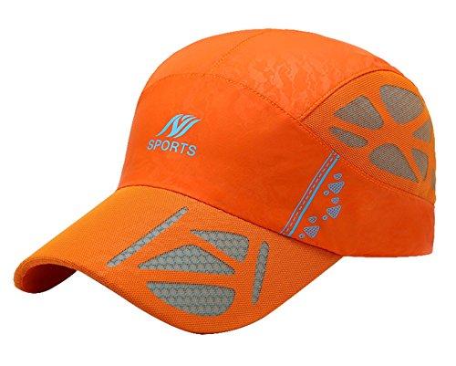 Panegy Trucker Hat Quick Dry Breathable Mesh Warerproof Cap Adjustable Snapback Baseball Cap