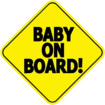 Baby ON Board Car Vehicle Stickers Vinyl Decal Sticker Car Warning Stickers Decal Vehicle Safety Sign