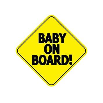 ef95c9e1f79 Buy StickyChimp Baby on Board Safety Sign Car Sticker