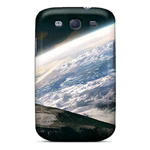 Durable Case For The Galaxy S3- Eco-friendly Retail Packaging(earth Moon Space)