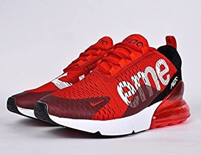 ed54f1558c1217 N.K Air Max 270 Supreme Red Black (8.5 UK India (EUR 43))  Buy Online at  Low Prices in India - Amazon.in